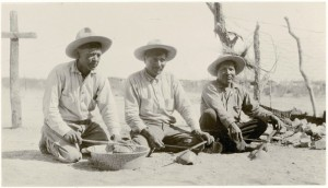 Yaqui men - 1921