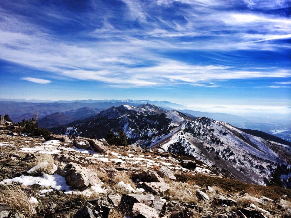 Ridge Run Francis Peak to Thurston Peak